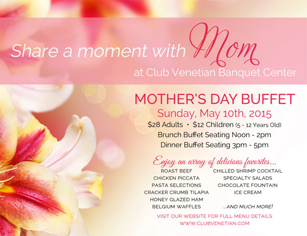 2015 Mother's Day Buffet