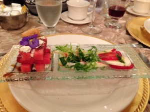 Club Venetian Gold Card Dinner Hors D'oeuvres