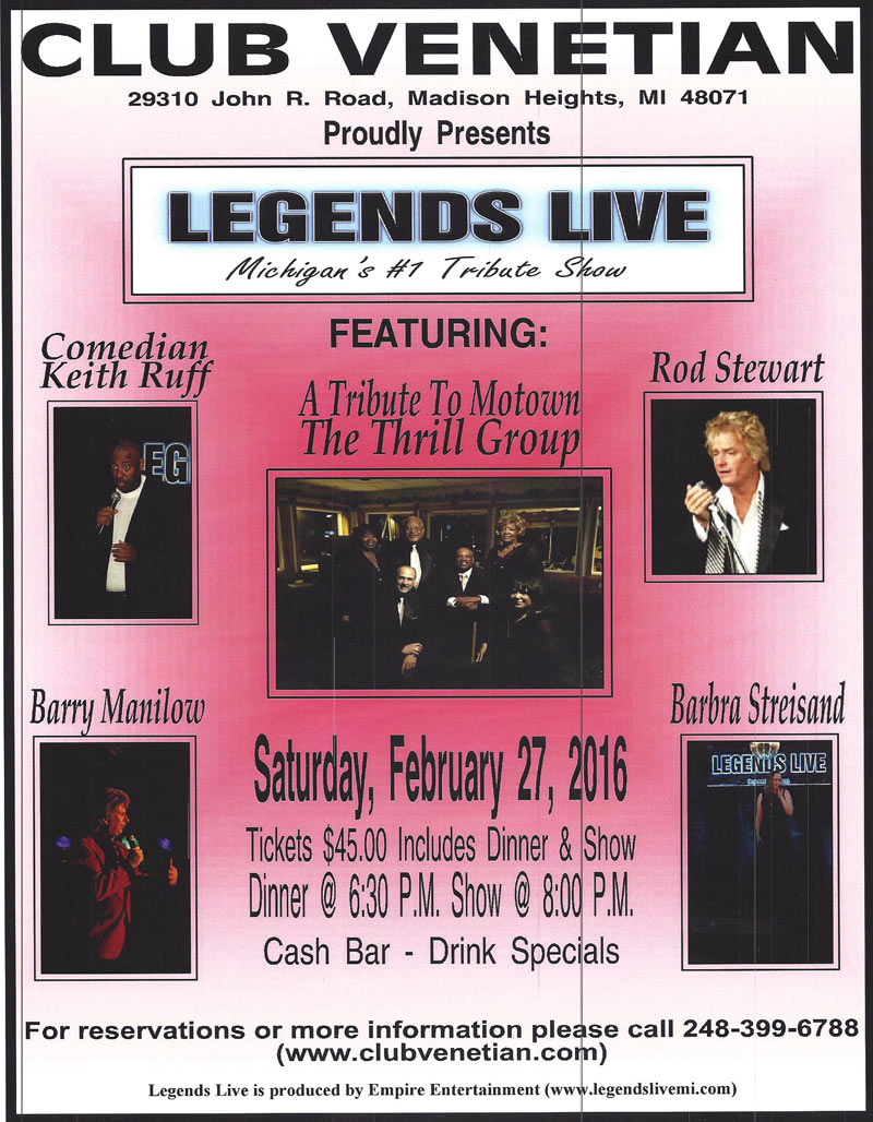 Legends Live Show