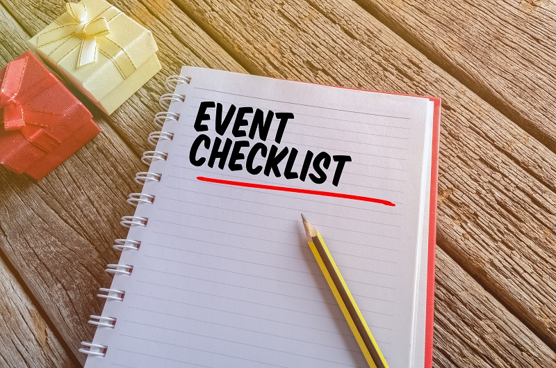 Creating An Event Checklist  Club Venetian