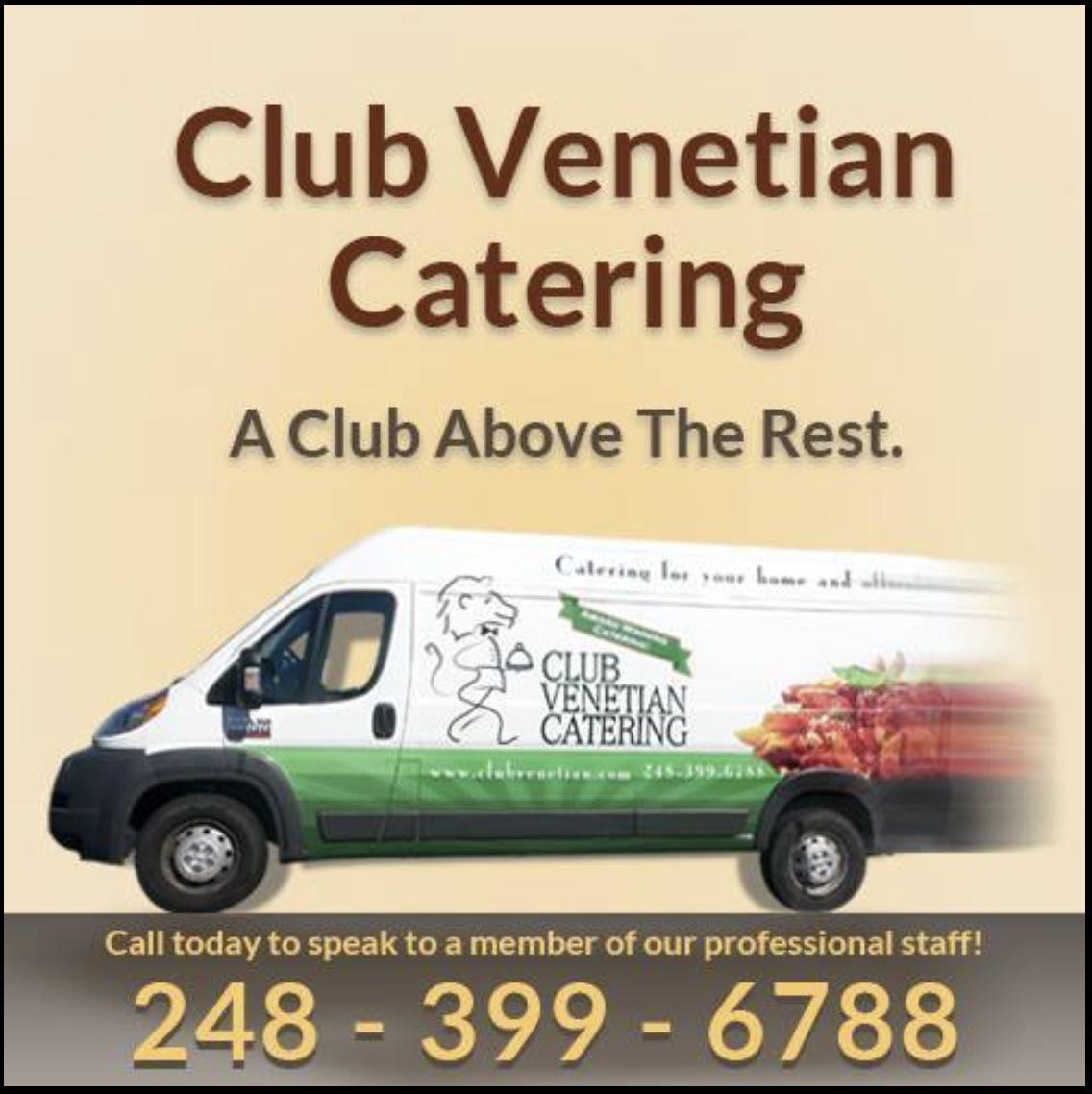 Club Venetian Catering